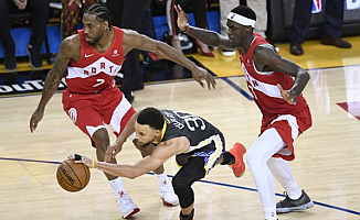 NBA Şampiyonu Belli Oldu: Golden State Warriors-Toronto Raptors 110-115