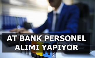 AT Bank Personel Alıyor