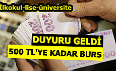 500 TL'ye Kadar Burs-VGM İlkokul-Lise ve Üniversite Öğrencilerine Burs Başvurusu