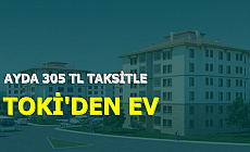 TOKİ'den 81 Proje: 305 TL Taksitle Ucuza Ev