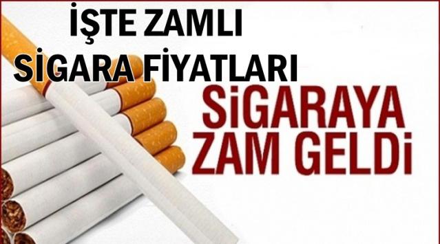 2019 Zamlı Sigara Fiyatları Belli Oldu