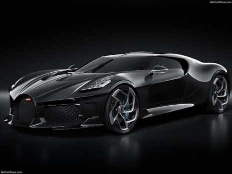 İşte Dünyanın En Pahalı Arabası: Bugatti La Voiture Noire