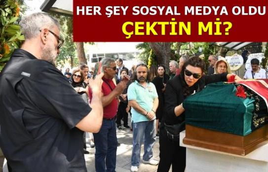 Enis Fosfosoğlu'nun Cenazesinde Tepki Çeken An
