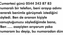 Telefon Dolandırıcılarına Dikkat PAYLAŞ