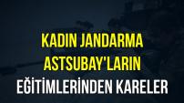 Kadın Jandarma'ların Eğitimlerinden Kareler