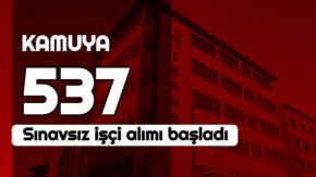 Kamuya Dev İŞçi Alımı: KPSS'siz 537 Personel Alınacak