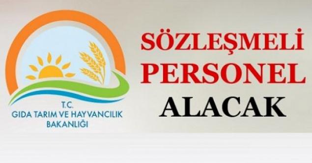 Gıda Tarım ve Hayvancılık Bakanlığı KPSS Şartlı Kamu Personeli Alacak!