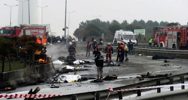 Büyükçekmece'de Helikopter Kazası!