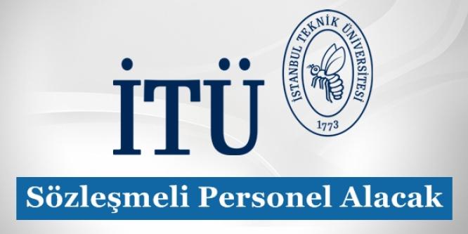 İstanbul Teknik Üniversitesi 8 Adet Personel Alımı Başvurularında Son Gün! (Acele Edin)