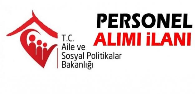 Kilis Aile ve Sosyal Politikalar Müdürlüğü 20 Adet ASDEP Görevlisi Alacak!