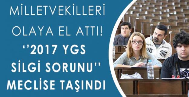 Milletvekilleri Olaya El Attı!''Silgi Sorunu'' Meclise Taşındı!