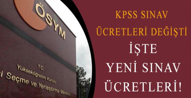 ÖSYM,KPSS Sınav Ücretleri Konusunda Yoğun Baskı Sonucunda Değişikliğe Gitti!