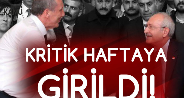 CHP'deki Kurultay Restleşmesinde Kritik Hafta
