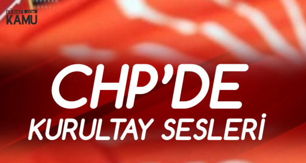 CHP Genel Merkezi'nden İnce'nin Ekibine Kurultay Resti