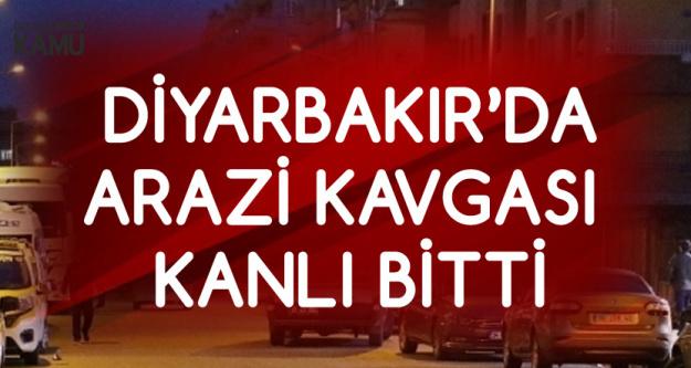 Diyarbakır'da Arazi Kavgası Kanlı Bitti! 2'si Ağır 9 Yaralı