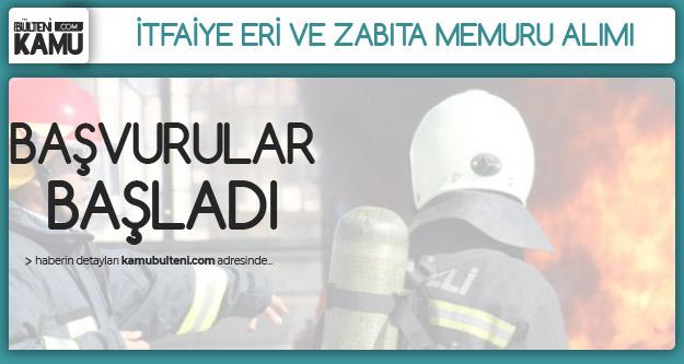Mucur Belediyesi İtfaiye Eri ve Zabıta Memuru Alımı Başvuruları Başladı