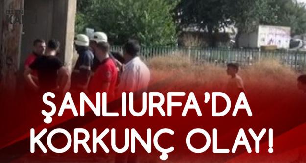 Şanlıurfa'da Korkunç Olay! Trafoya Giren Çocuk Akıma Kapıldı