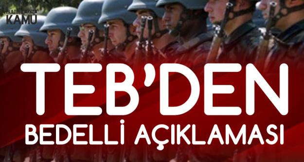 TEB'den 3 Ay Ertelemeli Bedelli Askerlik Kredisi Açıklaması Geldi