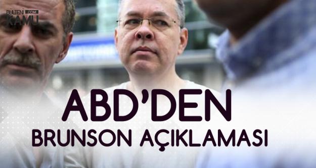 ABD'den Türk Heyetiyle İlgili Açıklama Geldi