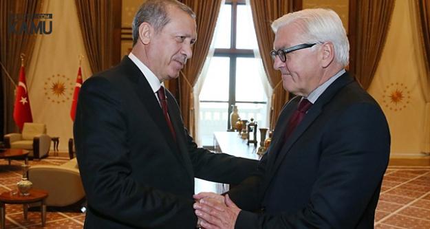 Cumhurbaşkanı Recep Tayyip Erdoğan, Alman Mevkidaşı ile Görüştü
