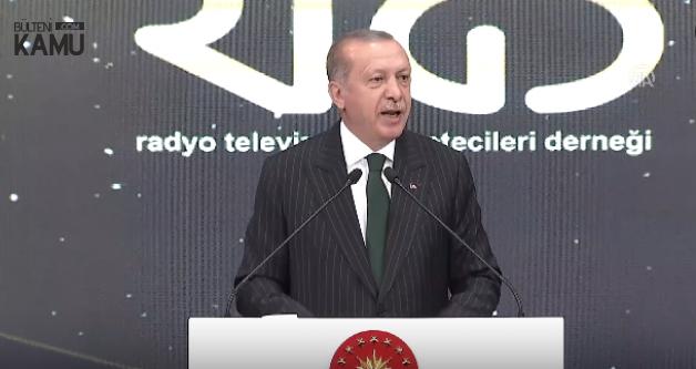Erdoğan 'Üzüntü ile Söylemek İsterim' dedi ve Açıkladı