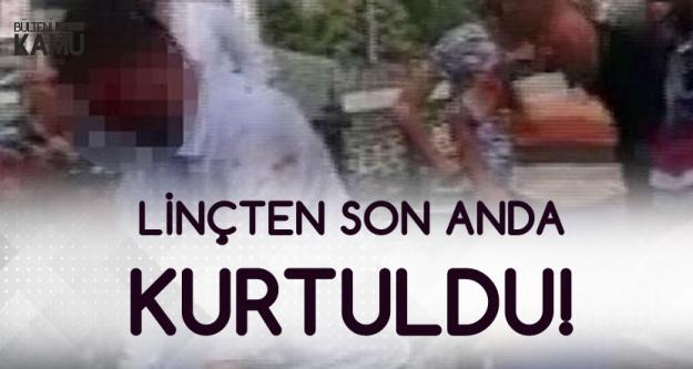 Esenyurt'ta Öz Çocuğunu Döven Kişi Linçten Son Anda Kurtuldu