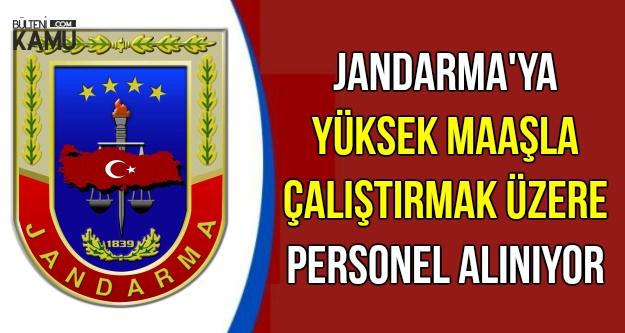 Jandarma'ya Personel Alınıyor