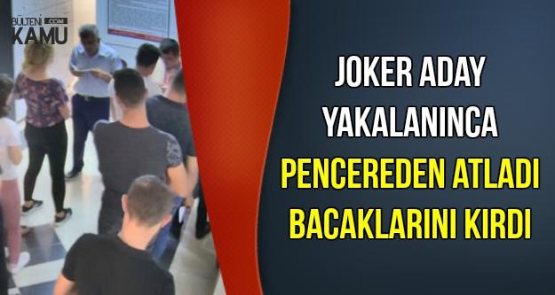 Joker Aday Yakalanınca Pencereden Atladı
