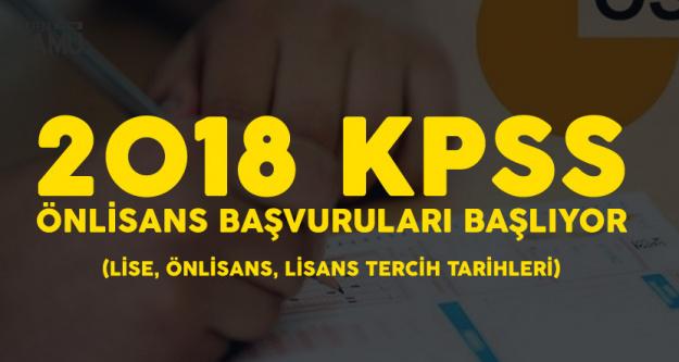 KPSS Önlisans Başvurusu için Geri Sayım Sona Eriyor! (2018 KPSS Tercih ve Başvuru Tarihleri)