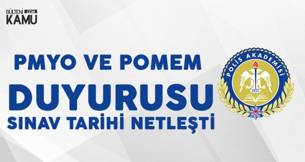 Polis Akademisinden PMYO ve POMEM Duyurusu! Sınavlar 31 Ağustos'ta