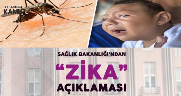 Sağlık Bakanlığı'ndan 'Zika Virüsü' Konusunda Açıklama Geldi
