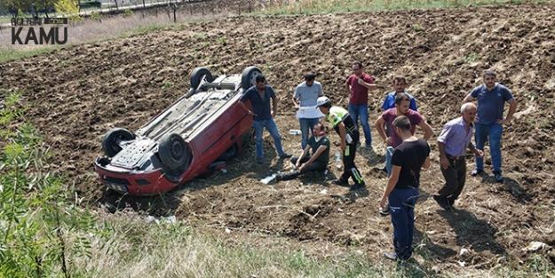 Samsun'da Korkunç Kaza! Mezar Ziyaretine Gidiyorlardı!