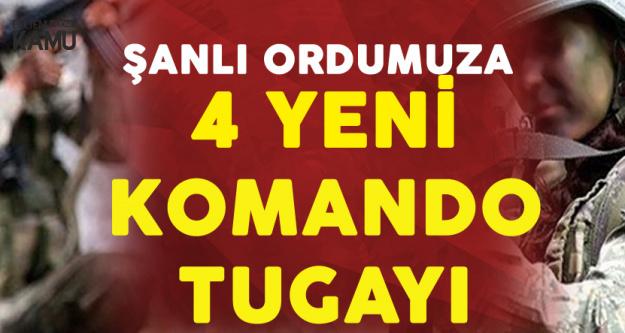 Türk Silahlı Kuvvetleri'ne 4 Yeni Komando Tugayı