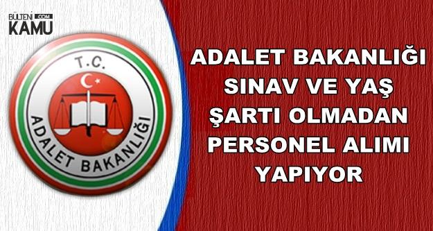 Adalet Bakanlığı Yeni Personel Alımı Yapıyor-İŞKUR TYP