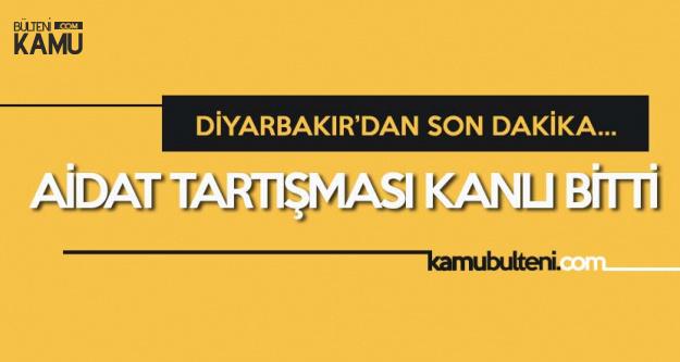 AK Parti Diyarbakır İl Başkan Yardımcısı Aidat İsteyen Kapıcıya Kurşun Yağdırdı