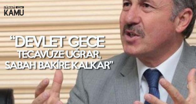 AK Partili Özdağ : Devlet Gece Tecavüze Uğrar, Sabah Bakire Kalkar