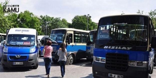 Ankara'da Dolmuş Ücretlerine Zam Yapıldı
