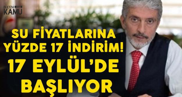 Ankara'da Suya Yüzde 17'lik İndirim Oy Birliğiyle Kabul Edildi