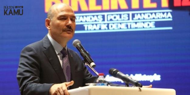 Bakan Soylu Açıkladı: Direksiyon Başında Telefon Bitecek