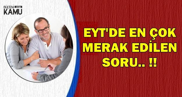 EYT'de  En Çok Merak Edilen Soru: Erdoğan'ın Tavrı Ne Olacak?