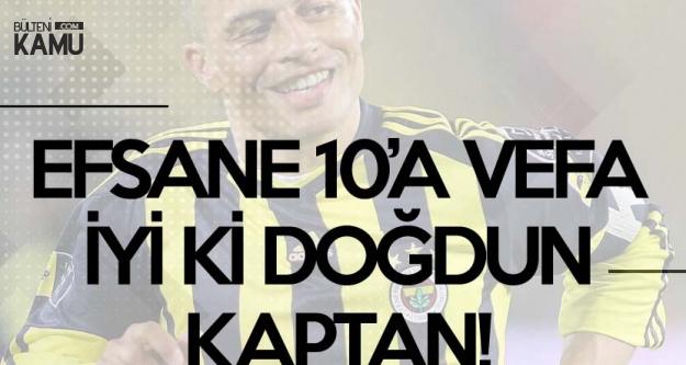 Fenerbahçeli Taraftarlardan 10'a Vefa (Alex De Souza 41 Yaşında)
