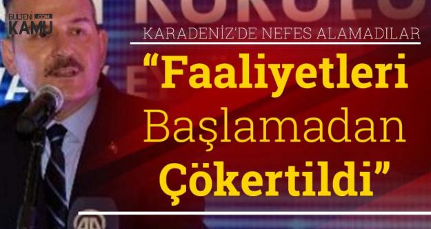 İçişleri Bakanı: PKK Karadeniz'de Henüz Başlamadan Çökertildi