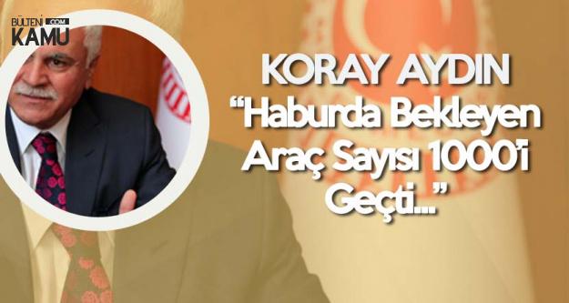 İYİ Parti Genel Başkan Yardımcısı Koray Aydın İhracatçıların Sorunlarını Meclise Taşıdı