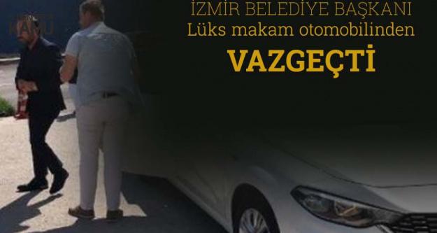 İzmit Belediye Başkanı Doğan, Lüks Makam Aracından Vazgeçti
