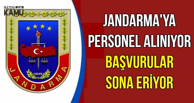 Jandarma'ya Personel Alınıyor-Başvurular Bitiyor