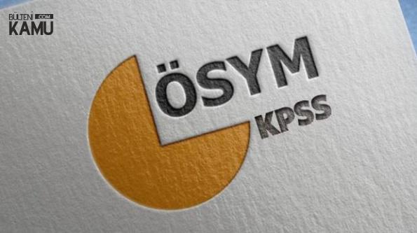 KPSS Lise Sınav Tarihi ve Tercih Tarihleri (Lise, Önlisans, Lisans)