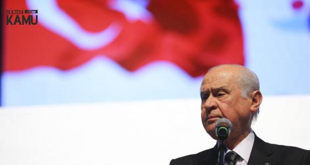 MHP Lideri Devlet Bahçeli'den Af Teklifi Açıklaması