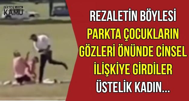Parkta Herkesin Gözü Önünde İlişkiye Girdiler-Üstelik..