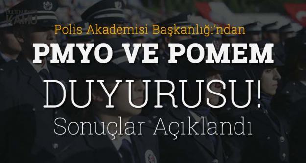 Polis Akademisi'nden PMYO ve POMEM Duyurusu! Sonuçlar Açıklandı
