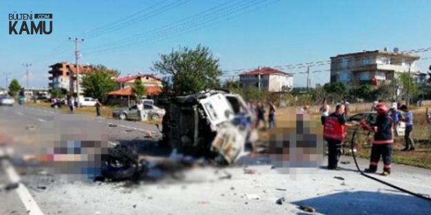 Sakarya'da 7 Kişinin Öldüğü Kazayla İlgili Kahreden Detay